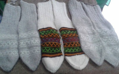 Angora Socks Now Available